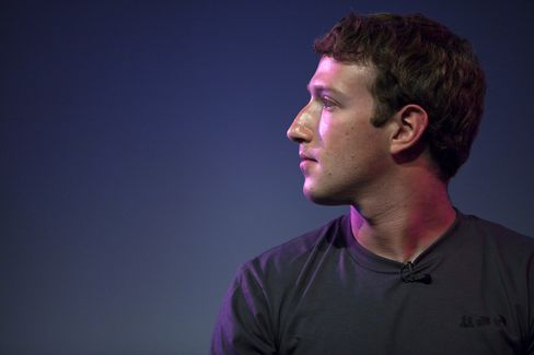 Mark Zuckerberg, founder and CEO of Facebook Inc