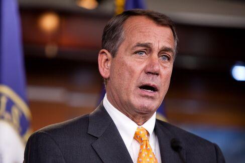 House Republican Leader John Boehner