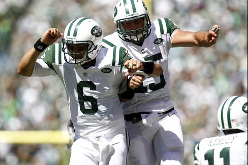 Manning Wins Broncos' NFL Debut as Jets Romp, 49ers Beat Packers