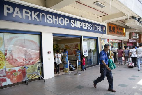Hutchison May Exit ParknShop as It Seeks Telecom Growth