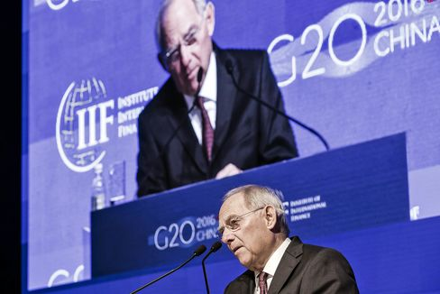 Key Speakers At Day Two Of The Institute of International Finance G20 Conference