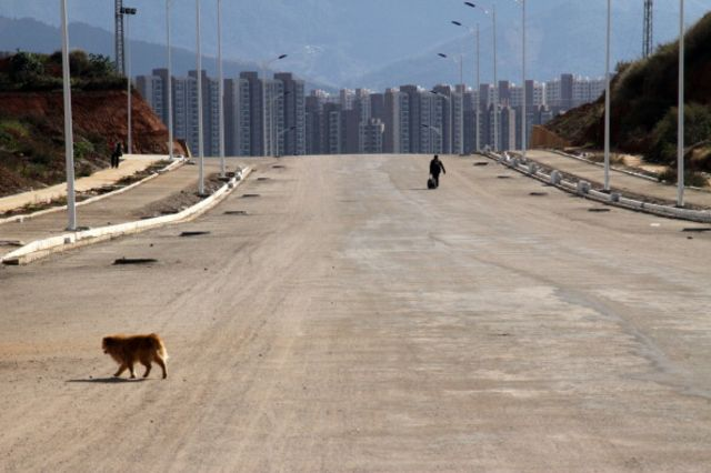 China's ghost cities are looking scarier by the day.