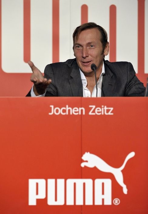 Puma CEO Jochen Zeitz