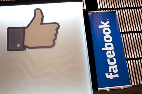 Facebook Seen Dropping 20% to Gain Parity With Nasdaq Rivals
