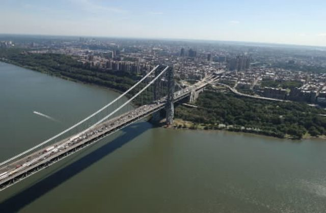 What's it going to take for this bridge to get out of the shadow of New Jersey Governor Chris Christie?Photographer: Daniel Acker/Bloomberg News