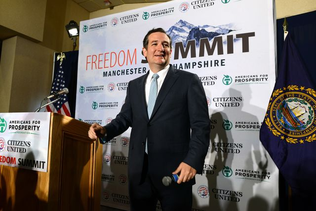 Senator Ted Cruz has been getting things done this spring. Photographer: Darren McCollester/Getty Images