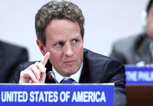 Geithner Says U.S. Won't Use Dollar to Gain Trade Advantage
