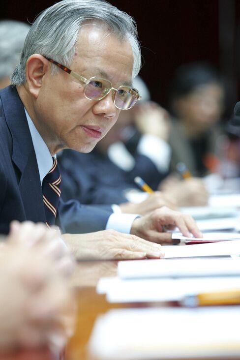 Perng Fai-nan of the Central Bank of the Republic of China