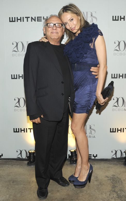 Max Azria and Lubov Azria