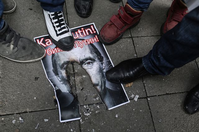 <p>The feeling is mutual.</p>  Photographer: Cagdas Erdogan/AFP/Getty Images