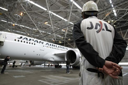 JAL Replaces 787 on Some Routes at Boeing Order on Engine Icing