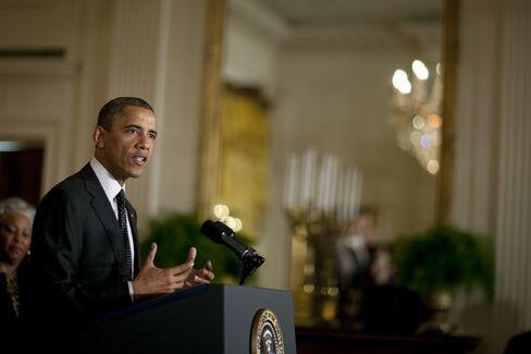 President Barack Obama, U.S. Photographer: Andrew Harrer/Bloomberg