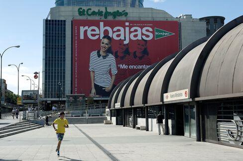 Spain's Retailers Led by El Corte Ingles Discounting 20%