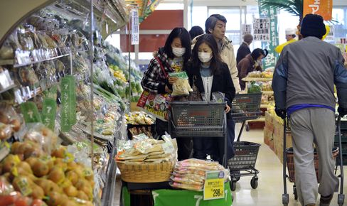 Japan May Restrict Food Shipments Areas Near Nuclear Plant