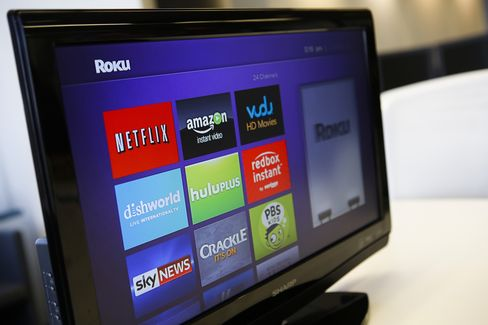Television Streaming Player Featuring Amazon, Netflix and Hulu