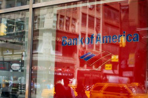 Bank of America Proft Quadruples
