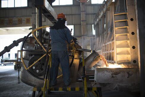 China Manufacturing Data Beat Estimates