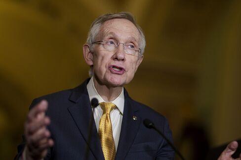 U.S. Stocks Pare Gains as Reid Remarks Spur Concern Over Budget