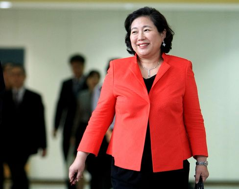 Hyun Jeong Eun, Hyundai Group's chairwoman.