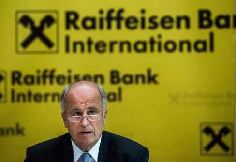 Raiffeisen Bank International AG CEO Karl Sevelda