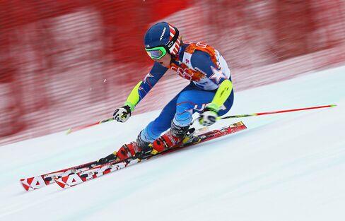 U.S. Skier Mikaela Shiffrin