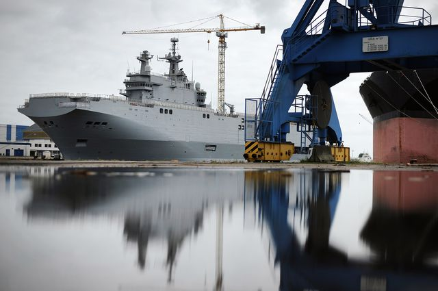 The Mistral Class Vladivostok. It might need a new name.