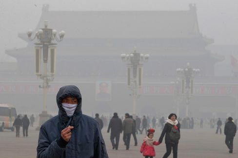 Deadly Pollution Breathes New Life Into Solar Debt: China Credit