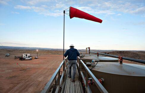 Kodiak Oil & Gas Crude Storage Tanks