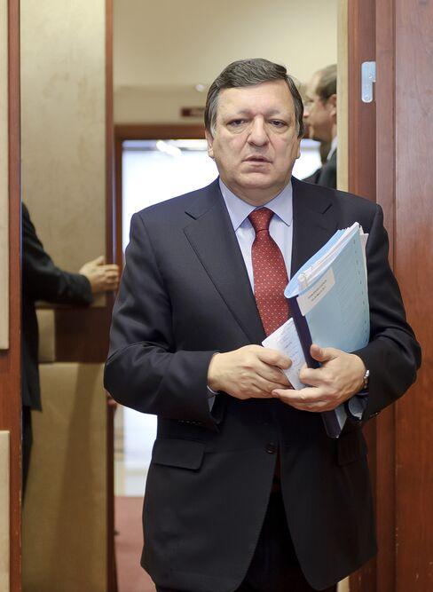 European Commission President Jose Barroso