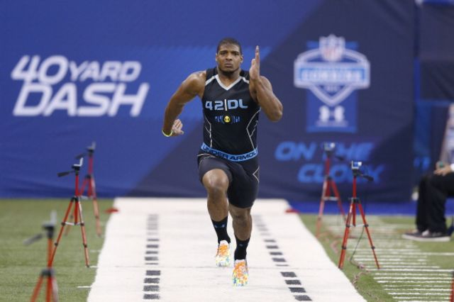 Michael Sam should stick to the east. Photographer: Joe Robbins/Getty Images