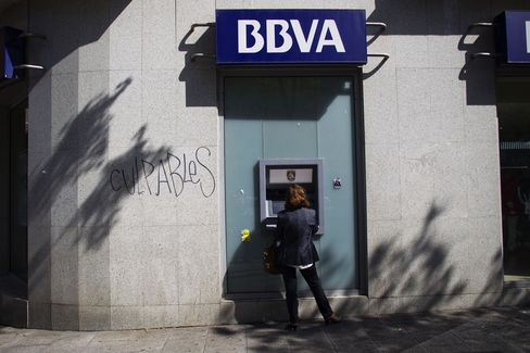 BBVA's Quarterly Profit Slumps on Real Estate Purge in Spain