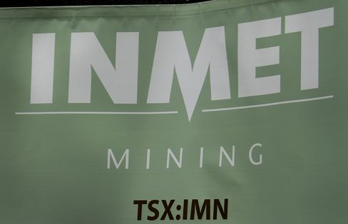 Inmet in Talks With Parties After Rejecting First Quantum Bid