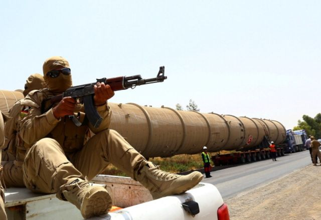 China has great interest in seeing Iraq's oil infrastructure secured.