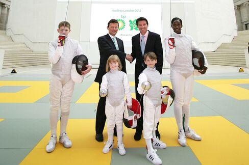 BP Sponsors London 2012 Olympics
