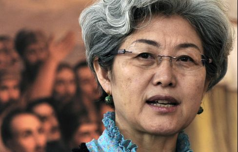 Chinese Deputy Foreign Minister Fu Ying