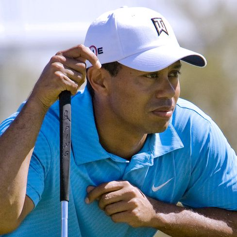 Tiger Woods in Arizona