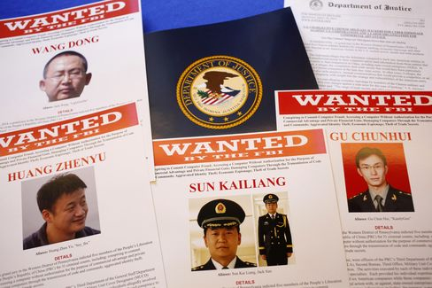 Chinese men indicted for espionage