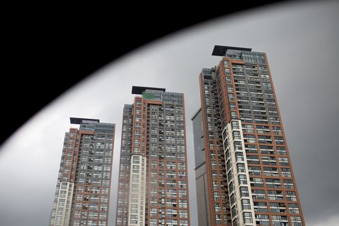 Residential Buildings in the Luohu District of Shenzhe