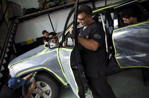 Surging Crime Under Chavez Fuels Armored Car Boom Venezuela