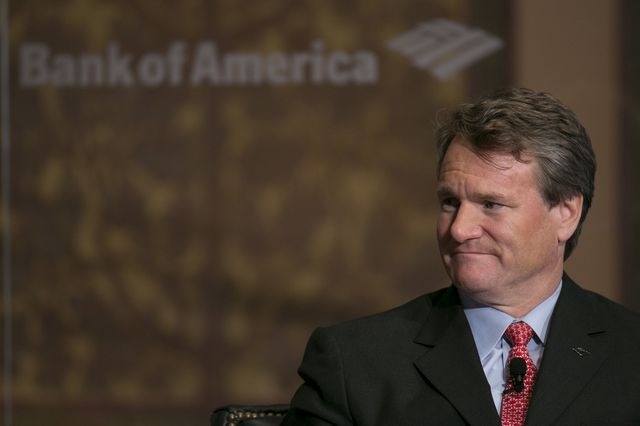 Brian Moynihan should be happy. As for everyone else ...