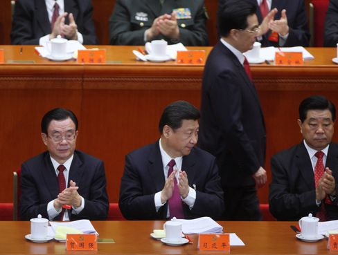 Xi Jinping replaced Hu Jintao as head of the Chinese Communist Party, ushering in the fifth generation of leaders set to run the world's second-biggest economy over the next decade. Photographer: Tomohiro Ohsumi/Bloomberg