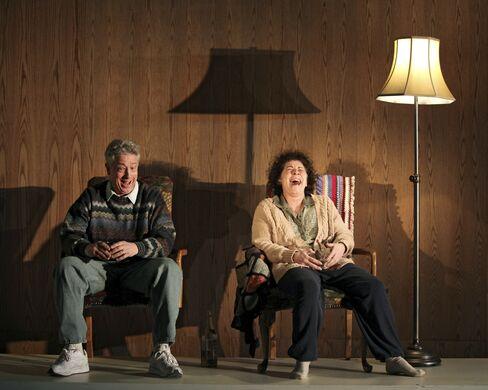 Bill Buell and Suzanne Bertish