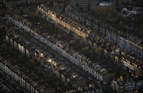 Houses Stand in London