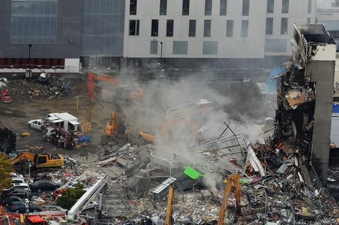 No Survivors in Japan Students' Building, N.Z. Police Say
