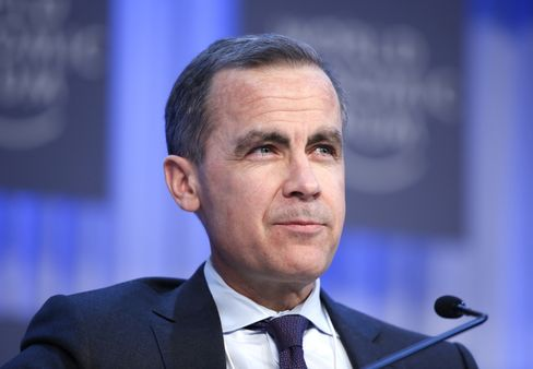 BOE incoming governor Mark Carney