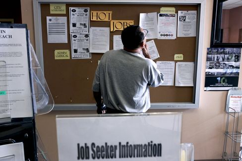 Unemployment in U.S. May Rise Toward 10% on 'Feeble' Growth