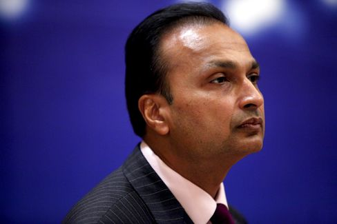 Reliance Infrastructure Chairman Anil Ambani