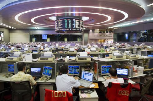 Hong Kong Bourse Quarterly Profit Rises 10% on Trading Boost