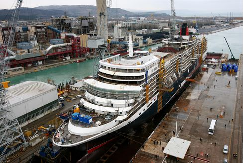 Fincantieri to Buy 51% of STX OSV to Add Oil-Rig Support Vessels