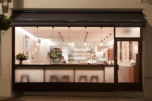 Portland captures the chic-casual urbanity of the revitalized Marylebone.